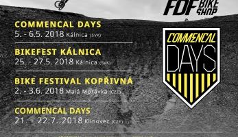 Pozvánka: Commencal Days 2018 - vyzkoušej Commencal je na vlastní kůži