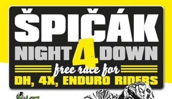 Pozvánka: Night 4 Down - fourcross na Špičáku, za tmy a pro všechny