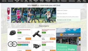 Spustili jsme (r)evoluci - nový e-shop Koloshop.cz