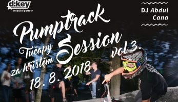 Pozvánka: Pumptrack Night Session se jede již tento víkend
