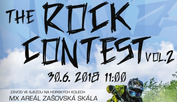 Pozvánka: The Rock Contest vol. 2 - downhill v Zašové