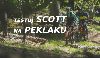 Testování: Vyzkoušej si kola Scott na Pekláku