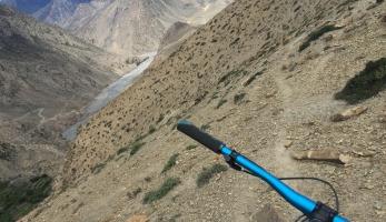 MTB-Weltenbummler na expedici v Himaláji