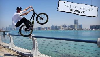 Video: Vašek Kolář trialoval v Abu Dhabi