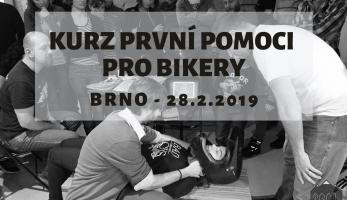 Pozvánka: Kurz první pomoci pro bikery - BRNO