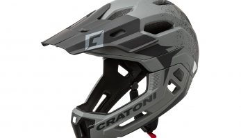 C-MANIAC 2.0 MX - Cratoni představuje helmu s odnímatelnou bradovou částí