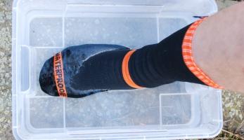 Test: nepromokavé ponožky DexShell - nepromoknou, neprofouknou