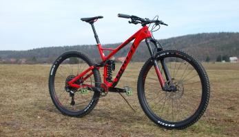 Test: Ghost SL AMR 6.9 LC - trailbike na pružině