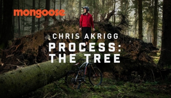 Video: Chris Akrigg  a jeden vyvrácený strom