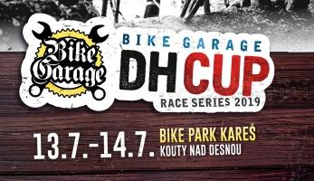Roman Hájek zve na Bike Garage DH cup - začíná se na Kareši