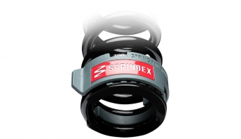 Sprindex - umožní ti nastavit tuhost pružiny. Ocelové pružiny!