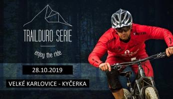 TRAILDURO série 2019 pokračuje v okolí Bikeparku Kyčerka