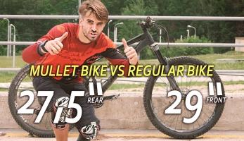 Video: Matěj Charvát zkouší kolo s devětadvácou vepředu a sedmadvácou vzadu