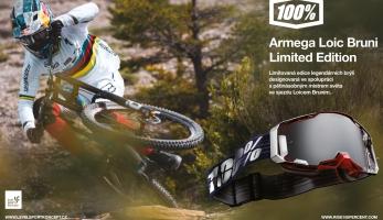 Soutěž o brýle 100% Armega Loic Bruni Limited Edition
