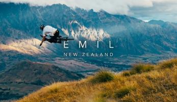 Video: Emil Johansson na Novém Zélandu