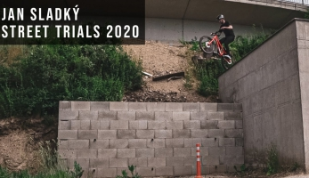 Video:  Jan Sladký - Streettrials 2020