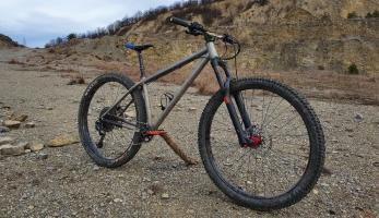 Test: Matula bikes Skalia - univerzální titanový pevňák
