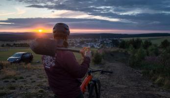 Nový Boží trail: Ze starý božídarský fourcrossky je od letoška Boží Trail!