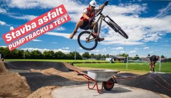 Video: Tomáš Zejda - stavba asfaltového pumptracku a jeho test