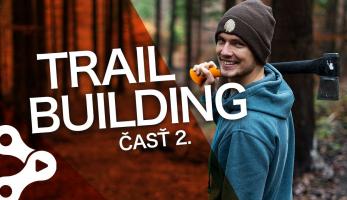 Video: Rastislav Baránek - Bike Mission - TRAILBUILDING - Terén, skoky a klopky, časť 2