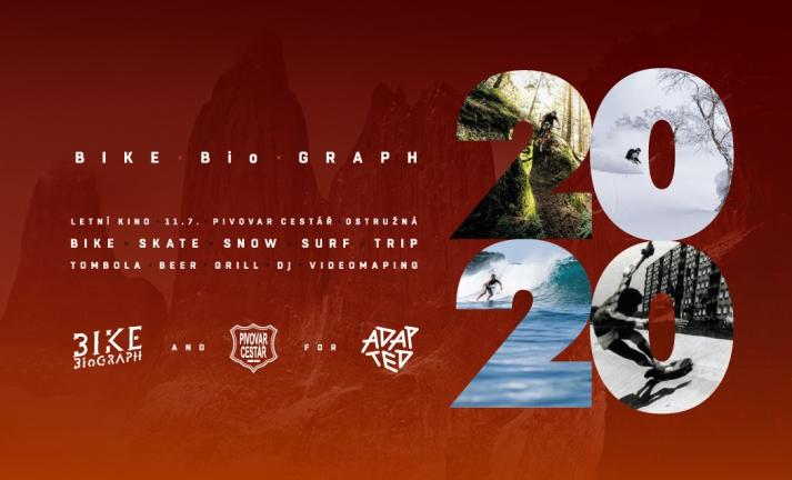 BIKEBioGRAPH 2020 - Přijeď, buď s námi a pomůžeš projektu ADAPTED