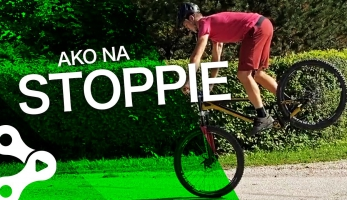 Video: Rastislav Baránek - Bike Mission - Zastavenie na prednom kolese - STOPPIE