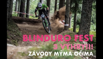 Video: Vojta Bláha - BLINDURO FEST a.k.a. malé české CRANKWORX mýma očima