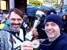 Report: Zimní závody enduro po italsku - Kafíčko i Smety na bedně