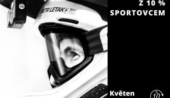 Petr Leták - Z 10% Sportovcem - květen 2020