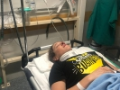Noga Korem se zranila v tréninku