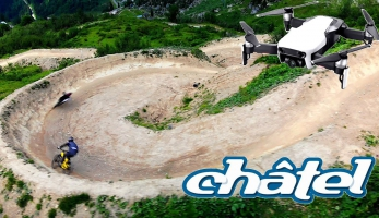 Video: Chatel from above - Chatel z droního nadhledu