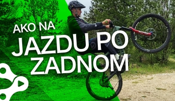Video: Rastislav Baránek - Bike Mission - Jazda po zadnom kolese - wheelie!