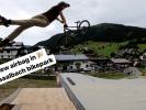 Video: Nový airbag landing v bikeparku Saalbach!
