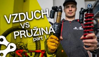 Video: Rastislav Baránek - Bike Mission - Porovnanie - vzduchový vs strunový tlmič!