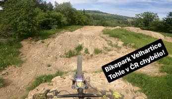 Video: v červenci otevře Bikepark Velhartice