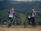 Max Adami a Miky Nevrkla jezdí za Bikeporn - Chimpanzee Team