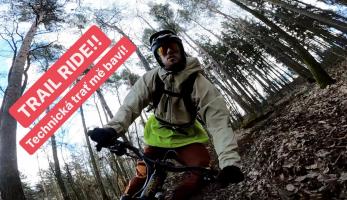 Video: Tomáš Zejda - Trail ride! Technická trať mě baví!