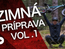 Video: Rastislav Baránek - Bike Mission -  Zimná príprava, časť 1 -  Jazdenie na morál