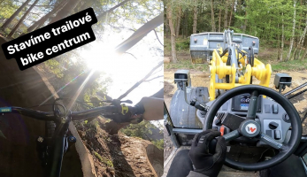 Video: Tomáš Zejda - bike TRAIL centrum, stavba a test!