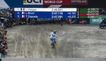 Video: Highlights z Světového poháru v  Lenzerheide - vyhrává Myriam Nicole a Loris Vergier