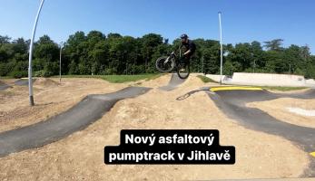 Video: Tomáš Zejda - Největší pumptrack v ČR! Jihlava!