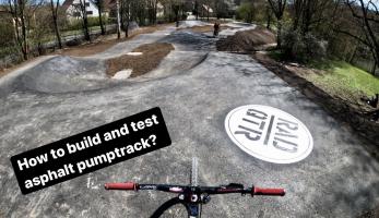 Video: Tomáš Zejda - stavba a test pumptracku - fróňo a beko z klopky