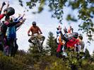 Finále Coupe de France Chamonix - enduro závodění pod Mont Blankem
