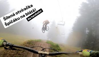 Video: Tomáš Zejda - Bikepark Špičák, šílená otvíračka na blátě!