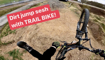Video: Tomáš Zejda - na dirtech na trailbike