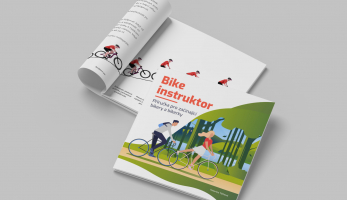 Nová kniha Bikeinstruktor vás naučí jezdit na kole více technicky
