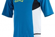 Alpinestars Drop 2 dres S/S bright blue/acid yellow